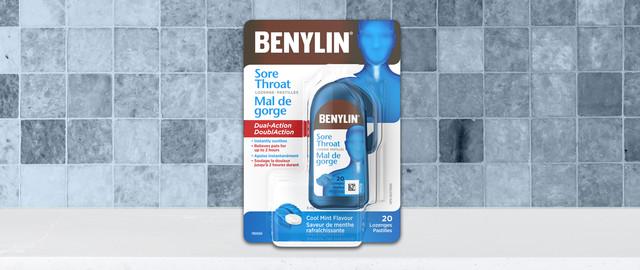 BENYLIN® Sore Throat Lozenge coupon