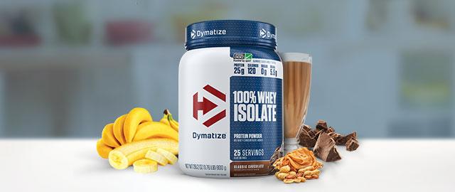 Dymatize 100% Whey Isolate Protein Powder 1.76 lb coupon