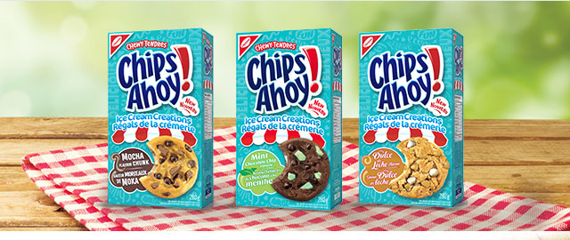CHIPS AHOY! Ice Cream Creations cookies coupon
