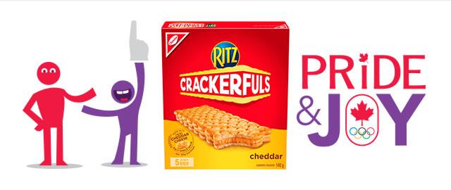 RITZ CRACKERFULS Sandwich Crackers coupon