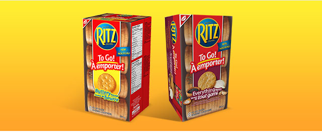 Offer Blitz! RITZ To Go! Crackers coupon