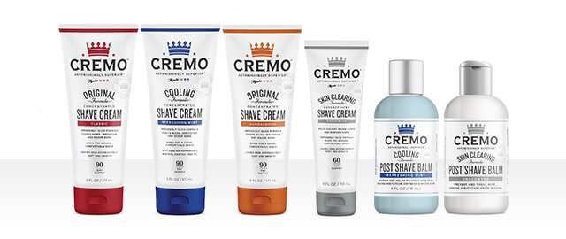 Cremo Men's Shave Cream or Balm Products coupon