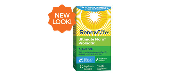 Renew Life® Adult 50+ Probiotics coupon