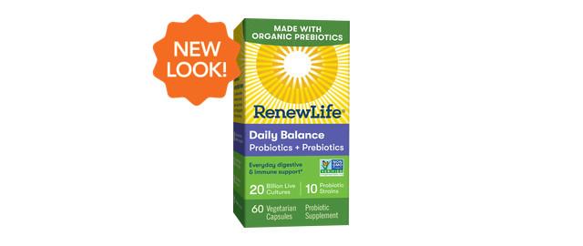 Renew Life® Probiotics + Organic Prebiotics coupon