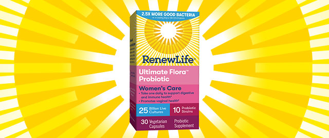 Renew Life® Women's Care Probiotics coupon