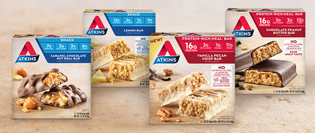 Atkins® Meal or Snack Bars coupon