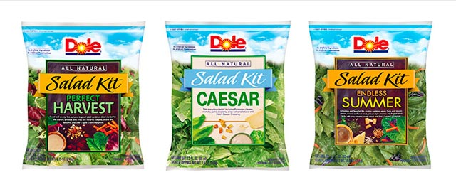 Dole All-Natural Salad Kits coupon
