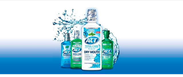 ACT mouthwash coupon