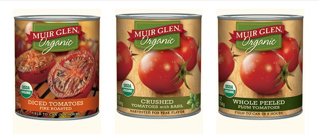 Muir Glen canned tomatoes coupon