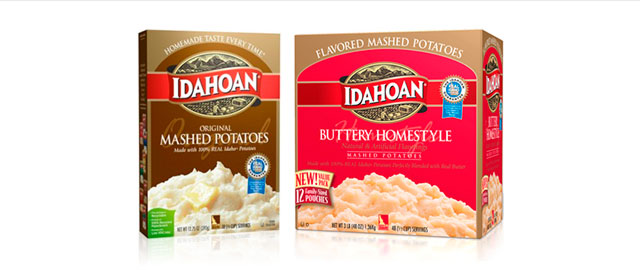 Idahoan mashed potatoes coupon