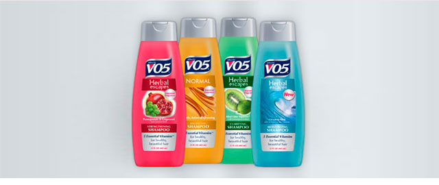 VO5 shampoo or conditioner coupon