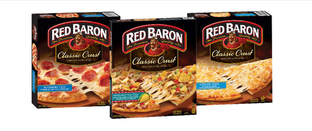 Red Baron® Multi-Serve Frozen Pizza coupon