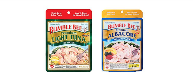 BUMBLE BEE® Premium Seafood Pouches coupon