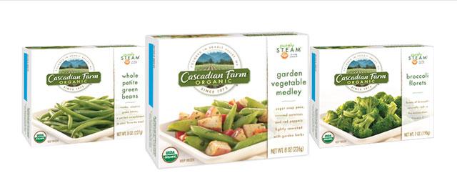 Cascadian Farms Gourmet Boxed Frozen Vegetable coupon