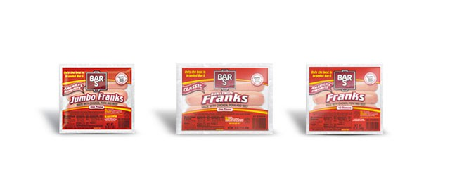 Bar-S beef franks coupon