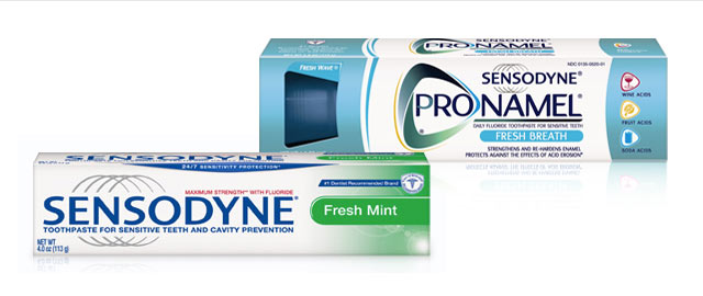 Sensodyne toothpaste coupon