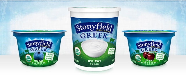 Stonyfield Organic Greek Yogurt coupon
