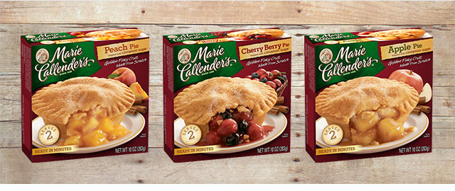 Marie Callender's Small Cream or Fruit Pies coupon