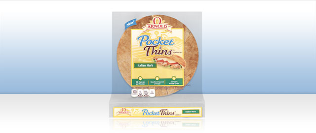 Arnold Pocket Thins Flatbread coupon
