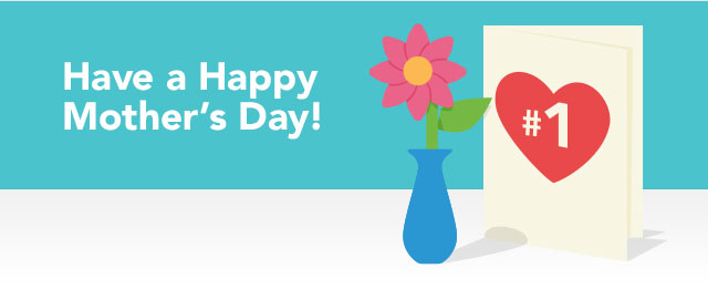 Happy Mother's Day! Save on any card coupon