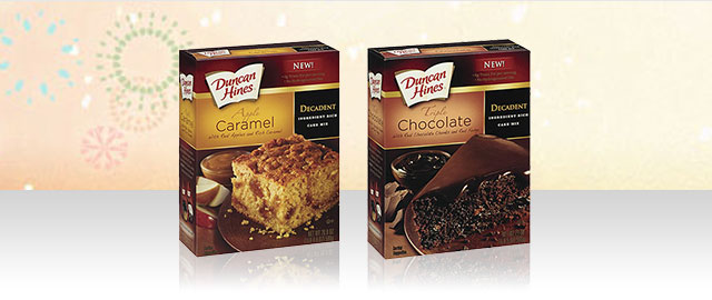 Duncan Hines Decadent Cake Mix coupon