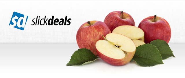 Slickdeals Special: Apples coupon