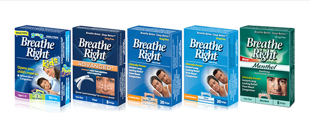 Breathe Right nasal strips coupon
