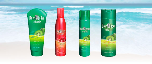 Down Under Naturals hair styling products coupon