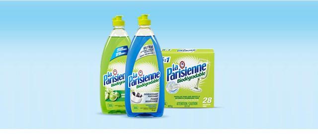 La Parisienne dishwashing products coupon