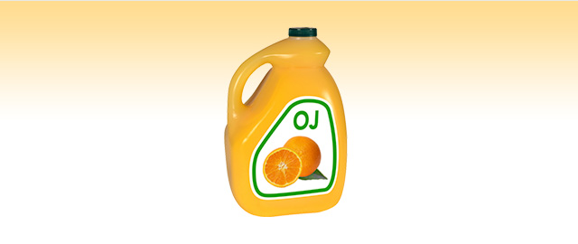 Orange juice coupon