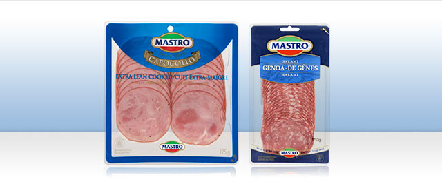 Mastro Sliced products coupon