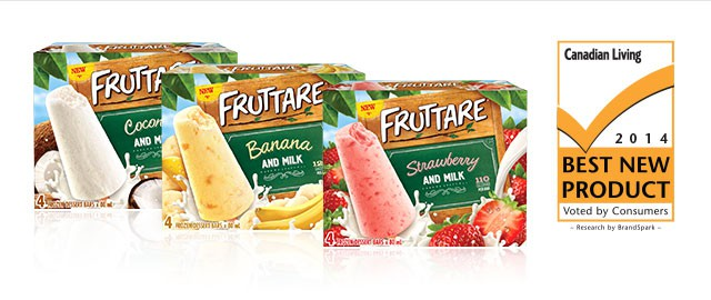 THIS WEEKEND ONLY: Fruttare Frozen Fruit Bars coupon