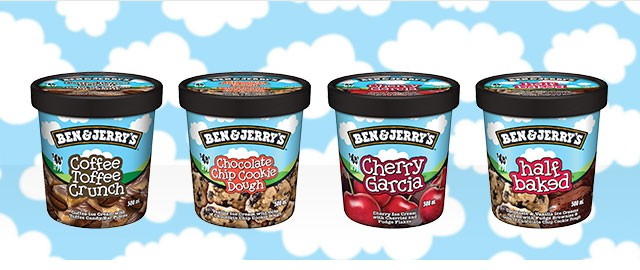 Ben & Jerry's ice cream coupon