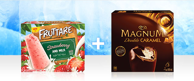 Combo: Magnum® + Fruttare Ice Cream Bars coupon