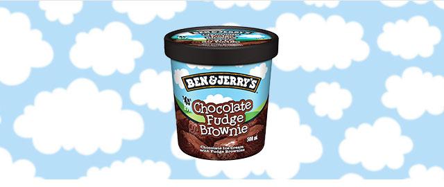 Ben & Jerry's Chocolate Fudge Brownie ice cream coupon
