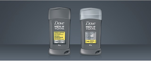 Dove Men+Care deodorant or anti-perspirant  coupon