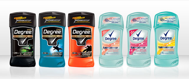 Degree MOTIONSENSE anti-perspirant coupon