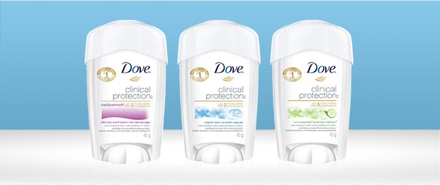 Buy 2: Dove Clinical Protection anti-perspirant coupon