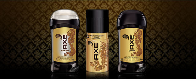AXE deodorant, anti-perspirant or body spray coupon