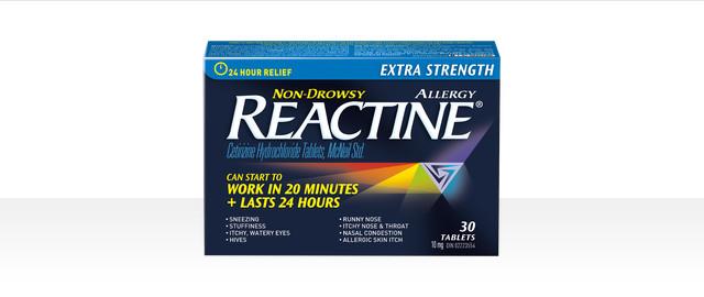 REACTINE® Extra Strength  coupon