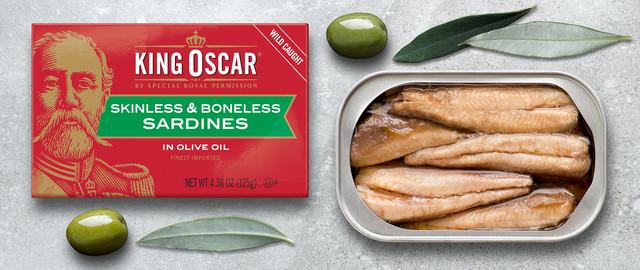 King Oscar Skinless Boneless Sardines coupon