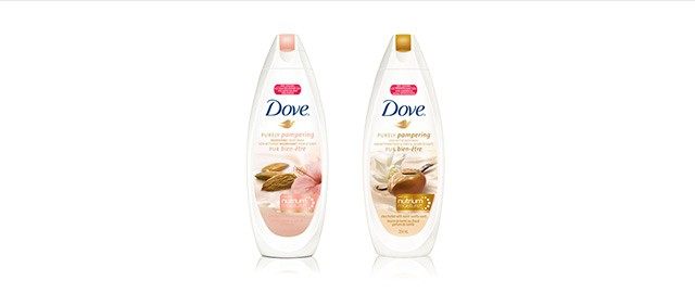 Buy 2: DOVE® body wash coupon