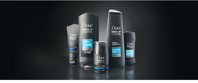 Dove Men+Care products coupon