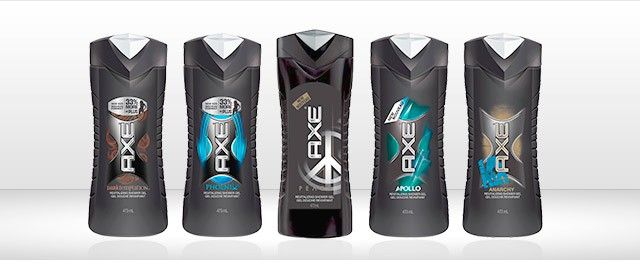 AXE shower gel coupon