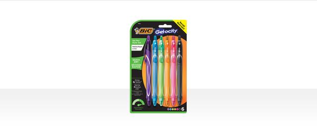 Select BIC® Gel-ocity Pens coupon