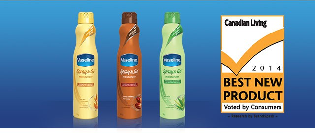 Vaseline® Spray Lotion coupon