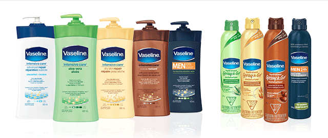 Vaseline® Lotion or Spray Moisturizer coupon
