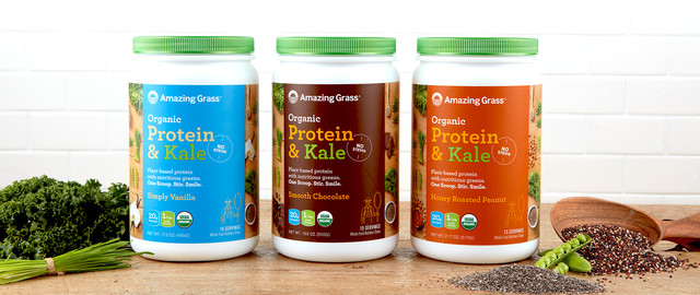 Amazing Grass® Organic Protein & Kale coupon