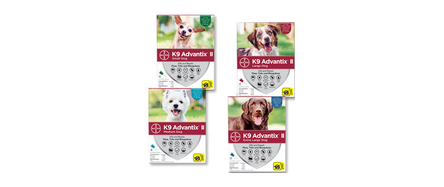 K9 Advantix® II 4-Pack coupon