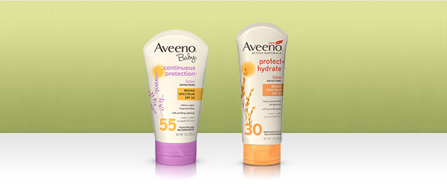 AVEENO® Sun Care Products coupon